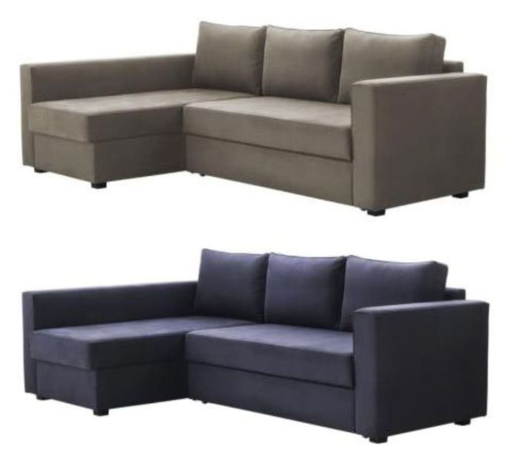 Manstad Sectional Sofa Bed & Storage From Ikea   Bestes For Manstad Sofas (View 14 of 15)