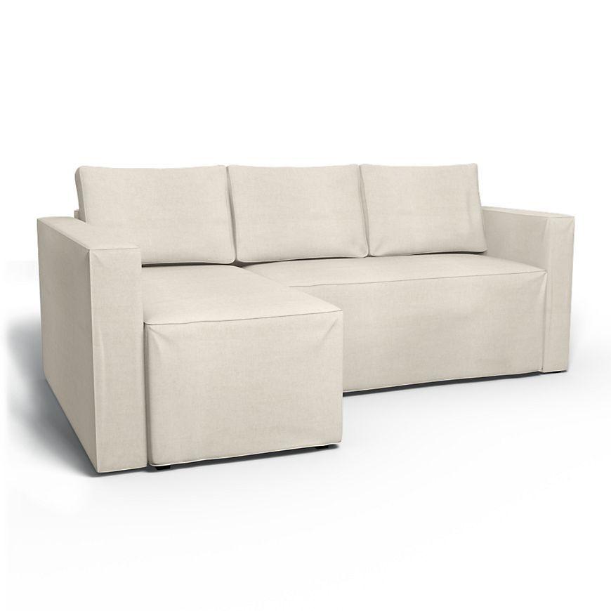 Månstad, Sofa Covers, Regular Fit Using Fabric Brera Lino With Manstad Sofas (View 3 of 15)