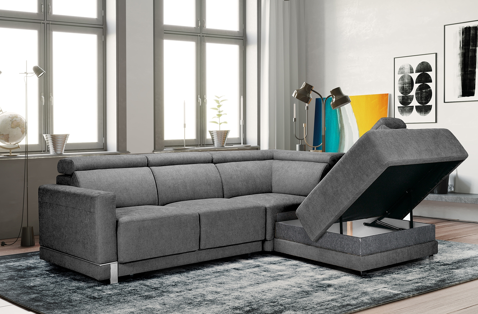 Marburg Sectional Sofa – Nordholtz Furniture With Sectional Sofas (View 1 of 15)
