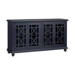 Martin Svensson Home Elegant Teal Glass Tv Stand Fits Tvs With Most Popular Martin Svensson Home Elegant Tv Stands In Multiple Finishes (View 1 of 15)