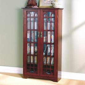 Media Cabinets At Lowes With Regard To Well Known Alden Design Wooden Tv Stands With Storage Cabinet Espresso (View 8 of 15)