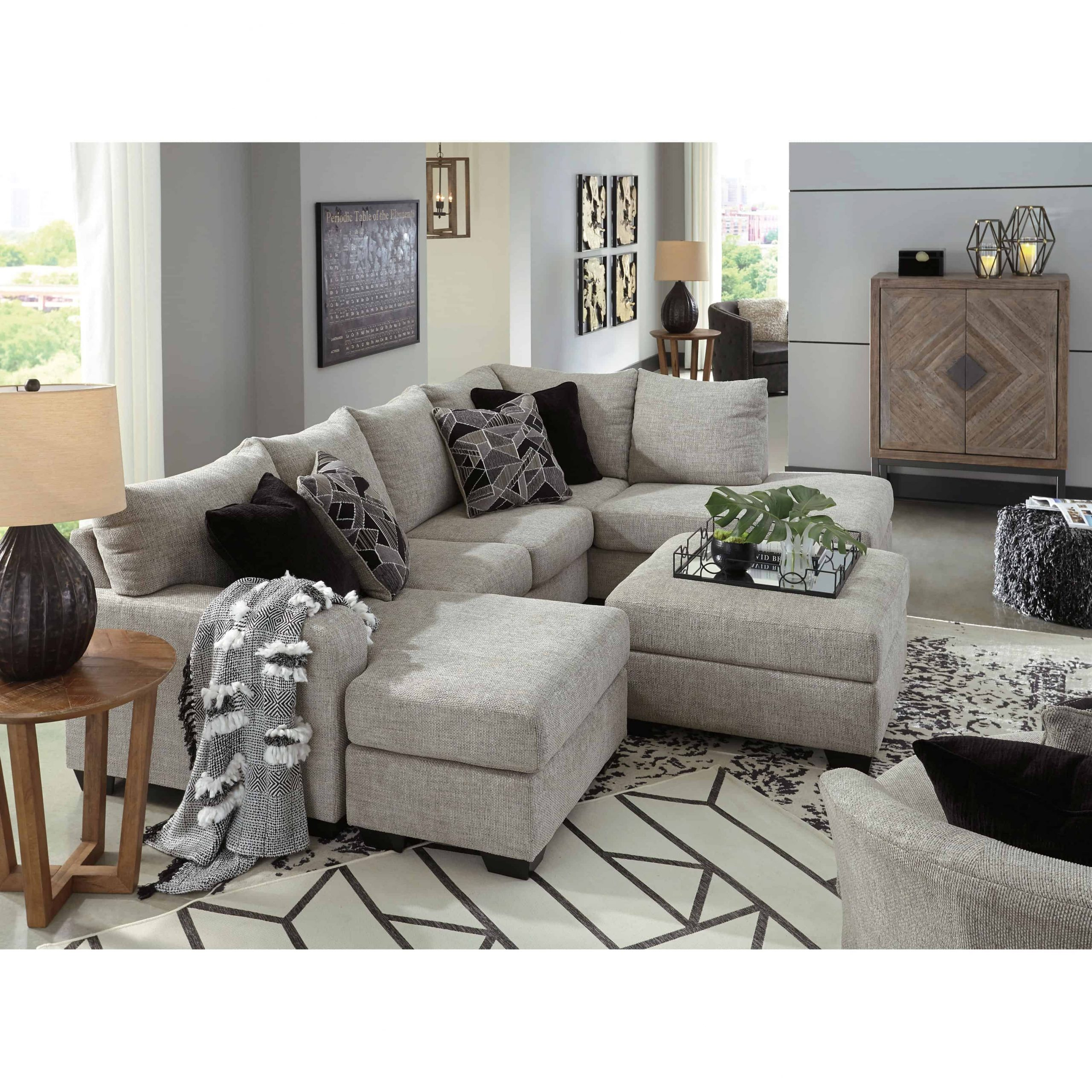 Megginson 2 Piece Raf Chaise Sectional | Furnishmyhome (View 6 of 15)