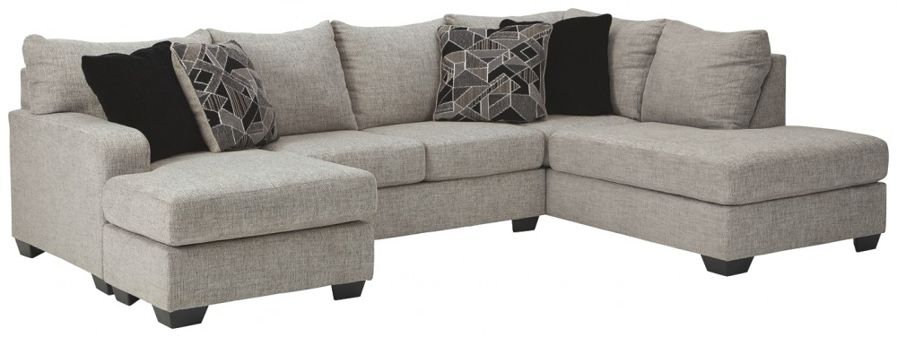 Megginson – 2 Piece Sectional With Chaise   96006S1/02/17 Throughout Evan 2 Piece Sectionals With Raf Chaise (View 7 of 15)