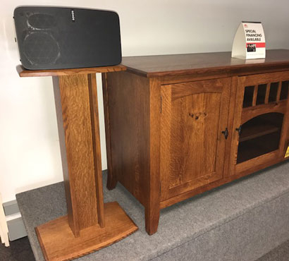 Mentor Tv & Qwp Speakers Stands For Sonos Play:5G2 Speakers For Most Recently Released Sonos Tv Stands (View 14 of 15)