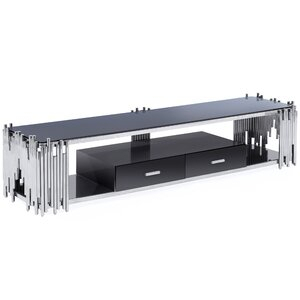 """Mercer41 Fortney Tv Stand For Tvs Up To 88"""" & Reviews Within 2017 Gosnold Tv Stands For Tvs Up To 88"""" (View 9 of 15)"""