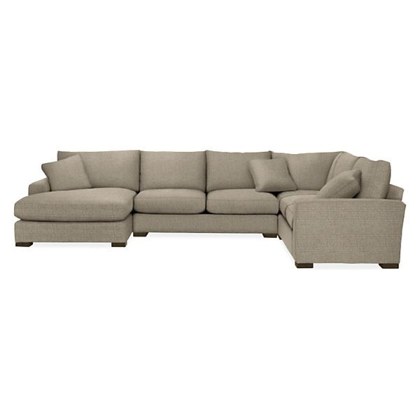 Metro Sectionals – Modern Sectionals – Modern Living Room In Room And Board Sectional Sofas (View 2 of 15)