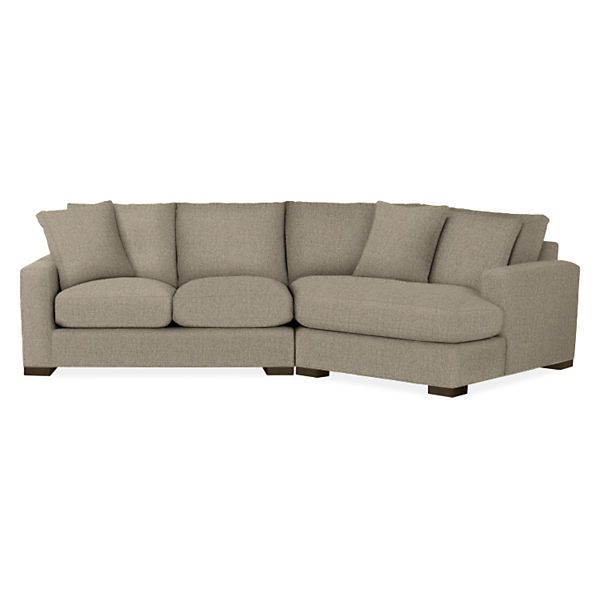 Metro Sectionals – Modern Sectionals – Modern Living Room Inside Room And Board Sectional Sofas (View 6 of 15)