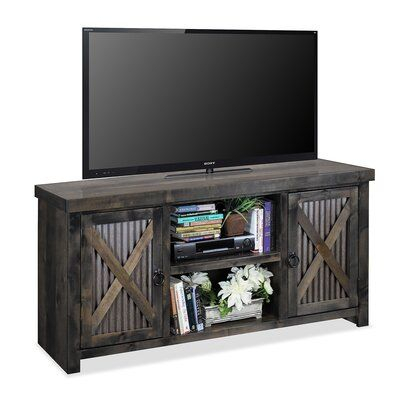 """Millwood Pines Bettie Solid Wood Tv Stand For Tvs Up To 70 In Famous Jowers Tv Stands For Tvs Up To 65"""" (View 3 of 15)"""