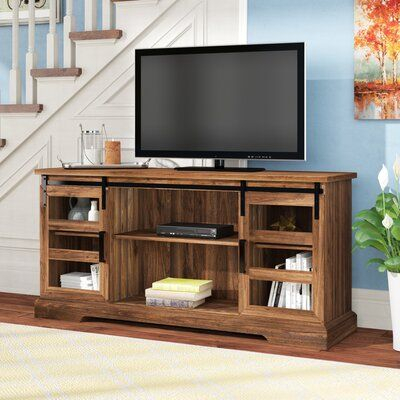 """Millwood Pines Hisako Tv Stand For Tvs Up To 65 Inches With Fashionable Jowers Tv Stands For Tvs Up To 65"""" (View 1 of 15)"""