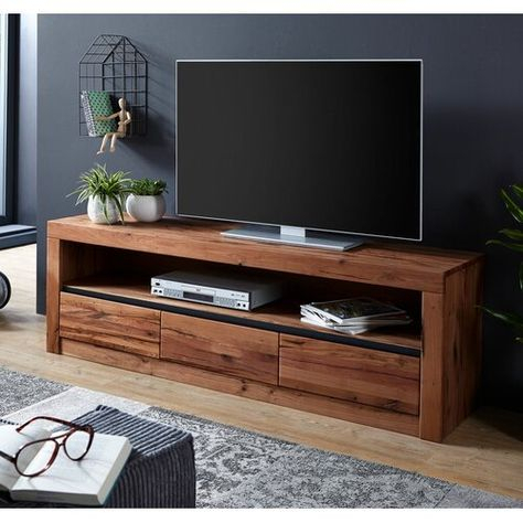 """Montreux Tv Stand For Tvs Up To 65"""" Massivmoebel (View 4 of 15)"""