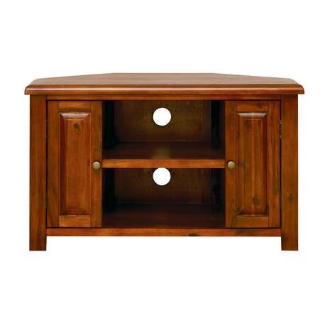 Most Current Carbon Extra Wide Tv Unit Stands In Winchester Acacia Dark Wood Corner Tv Unit (View 8 of 15)