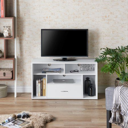 Most Current Mainstays 3 Door Tv Stands Console In Multiple Colors Regarding Furniture Of America Zoe Contemporary Versatile Tv Stand (View 9 of 15)