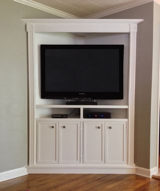 Most Current Unique Corner Tv Stands With Regard To Hand Crafted Custom Corner Entertainment / Media Cabinet (View 2 of 15)