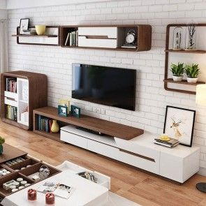 Most Popular Black Tv Cabinets With Drawers Regarding Modern Extendable Tv Stand Entertainment Cabinet With (View 11 of 15)