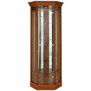 Most Popular Fulton Oak Effect Corner Tv Stands Inside Homeargos Argos Home Glass Corner Display Cabinet (View 10 of 12)
