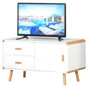 """Most Popular Orrville Tv Stands For Tvs Up To 43"""" Regarding Homcom Providence Tv Stand For Tvs Up To 43"""" (View 3 of 15)"""