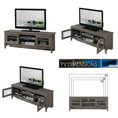 """Most Popular Techni Mobili 53"""" Driftwood Tv Stands In Grey Pertaining To Techni Mobili 53 In (View 6 of 15)"""