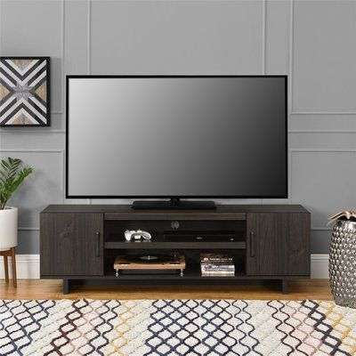 """Most Popular Tv Stands For Tube Tvs Regarding Zipcode Design Funston Tv Stand For Tvs Up To 65"""" Color (View 9 of 15)"""