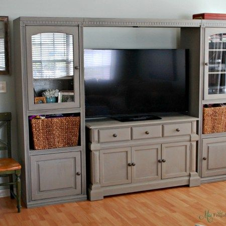 Most Popular White Painted Tv Cabinets Within Best 25+ Painted Entertainment Centers Ideas On Pinterest (View 1 of 15)