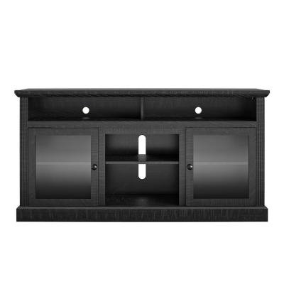 """Most Recent Ameriwood Home Rhea Tv Stands For Tvs Up To 70"""" In Black Oak In Tv Console – Black – Tv Stands – Living Room Furniture (View 7 of 15)"""