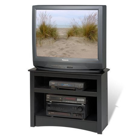 Most Recent Cornet Tv Stands Within Prepac Corner Black Tv Stand (View 9 of 15)