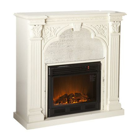 Most Recent French Country Tv Stands In Palomar Electric Fireplace (View 12 of 15)