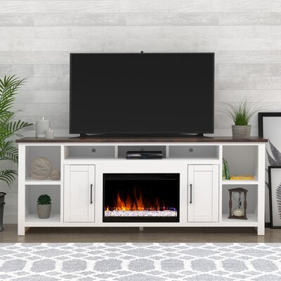 """Most Recent Gosnold Tv Stands For Tvs Up To 88"""" Regarding Three Posts™ Cayuta Solid Wood Tv Stand For Tvs Up To  (View 8 of 15)"""