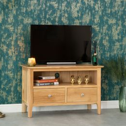 Most Recently Released Bergen Tv Stands Throughout Bergen Oak Collection (View 1 of 15)