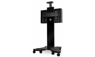 Most Recently Released Cheap Cantilever Tv Stands For B Tech Btf811 White Corner Cantilever Tv Stand (View 11 of 15)
