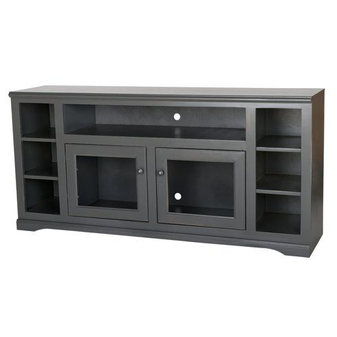 """Most Recently Released Chrissy Tv Stands For Tvs Up To 75"""" With Regard To Wentzel Solid Wood Tv Stand For Tvs Up To 75"""" (View 5 of 15)"""