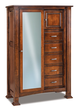 Most Recently Released Dark Brown Tv Cabinets With 2 Sliding Doors And Drawer Throughout Lexington Chifferobe With Sliding Door (View 2 of 15)