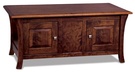 Most Recently Released Enclosed Tv Cabinets With Doors Regarding Ensenada Enclosed Coffee Table With Doors (View 13 of 15)