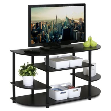 Most Recently Released Furinno Jaya Large Entertainment Center Tv Stands With Regard To Rent To Own Furinno Jaya Brown Mdf Corner Tv Stand (View 6 of 15)