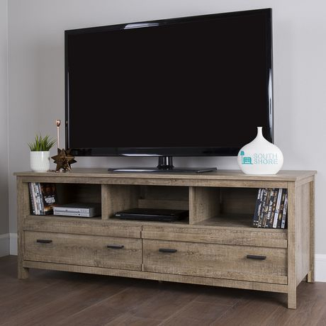 """Most Recently Released Kasen Tv Stands For Tvs Up To 60"""" Inside South Shore Exhibit Tv Stand For Tv'S Up To 60 Inches (View 3 of 15)"""