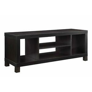 Most Recently Released Mainstays 4 Cube Tv Stands In Multiple Finishes Throughout Mainstays Tv Stand For Tvs Up To 42 Inches Espresso  (View 4 of 15)