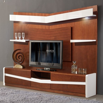 Most Recently Released Modern Design Tv Cabinets Inside Modern Tv Wall Unit Furniture Luxury Tv Cabinet With Lcd (View 10 of 15)