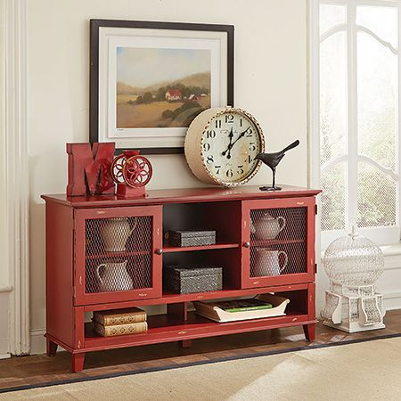 Most Recently Released Rustic Red Tv Stands Regarding America'S #1 Furniture Outlet (View 13 of 15)