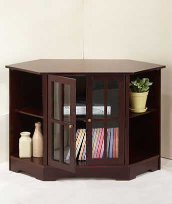 Most Recently Released Samira Corner Tv Unit Stands Throughout Corner Tv/Media Stand (View 14 of 15)