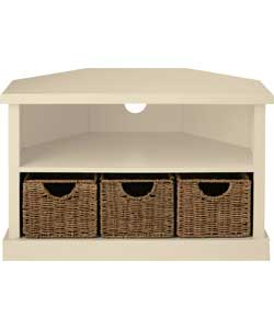 Most Up To Date Compton Ivory Corner Tv Stands With Baskets Pertaining To Corner Storage Reviews (View 7 of 15)