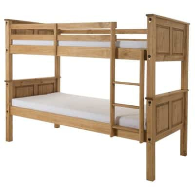 Most Up To Date Corona Tv Stands In Corona Bunk Bed – Waxed Pine (View 14 of 15)