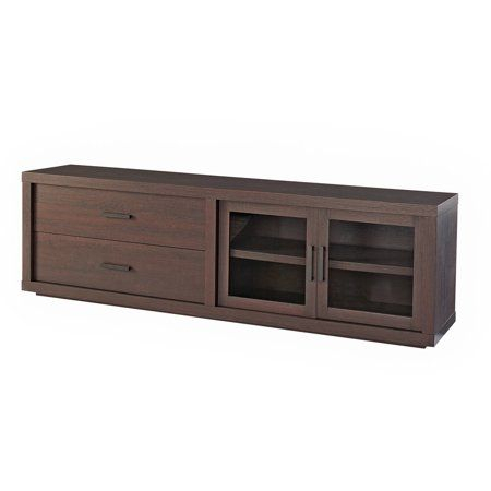 Most Up To Date Enclosed Tv Cabinets With Doors With Better Homes & Gardens Steele Tv Stand For Tv'S Up To  (View 2 of 15)