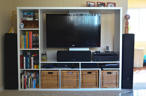 Most Up To Date Hannu Tv Media Unit White Stands For Byov: Bring Your Own Vegetables: Ikea Hack – Mounting Your (View 10 of 15)