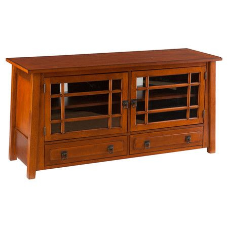 """Most Up To Date Mahogany Tv Stands Within You Should See This Riccardo 48"""" Tv Stand In Mahogany On (View 10 of 15)"""