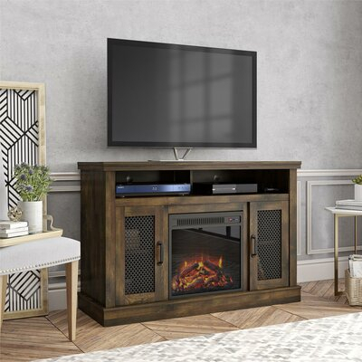 """Most Up To Date Neilsen Tv Stands For Tvs Up To 50"""" With Fireplace Included Inside 50 Inch Tv Fireplace Tv Stands & Entertainment Centers You (View 14 of 15)"""