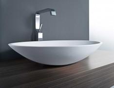 Nella Vetrina Vov Mastella Sokos Sm17 Luxury Italian Basin Within Trendy Puro White Tv Stands (View 9 of 15)