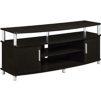 """New 50"""" Tv Stand Media Storage Adjustable Shelves 2 With Regard To Famous Chromium Tv Stands (View 2 of 15)"""