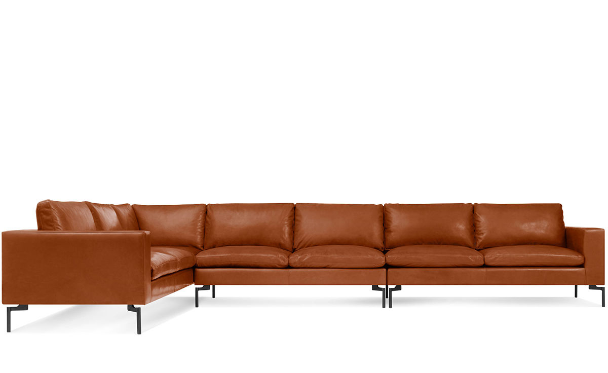 New Standard Large Sectional Leather Sofa – Hivemodern With Oversized Sectional Sofas (View 11 of 15)