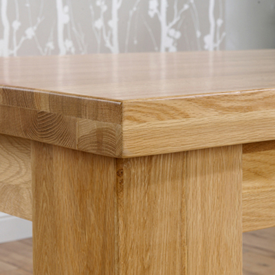 Newest Bromley Oak Tv Stands In Belgravia Solid Oak 180Cm Dining Table With 6 Bromley (View 7 of 15)