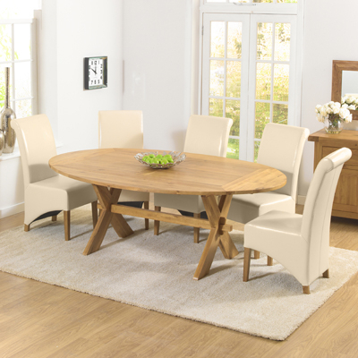 Newest Bromley Oak Tv Stands Pertaining To Avalon Oak Oval Extending Dining Table (View 14 of 15)