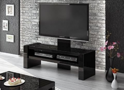 Newest High Glass Modern Entertainment Tv Stands For Living Room Bedroom Within Modern Tvstands: Different Types Of Tv Stand Designs To (View 8 of 15)